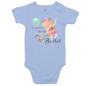 Baby All In One Romper - Everything Is Beautiful