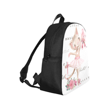 Load image into Gallery viewer, Multi-Pocket Backpack - Ballet Kitty Back Pack