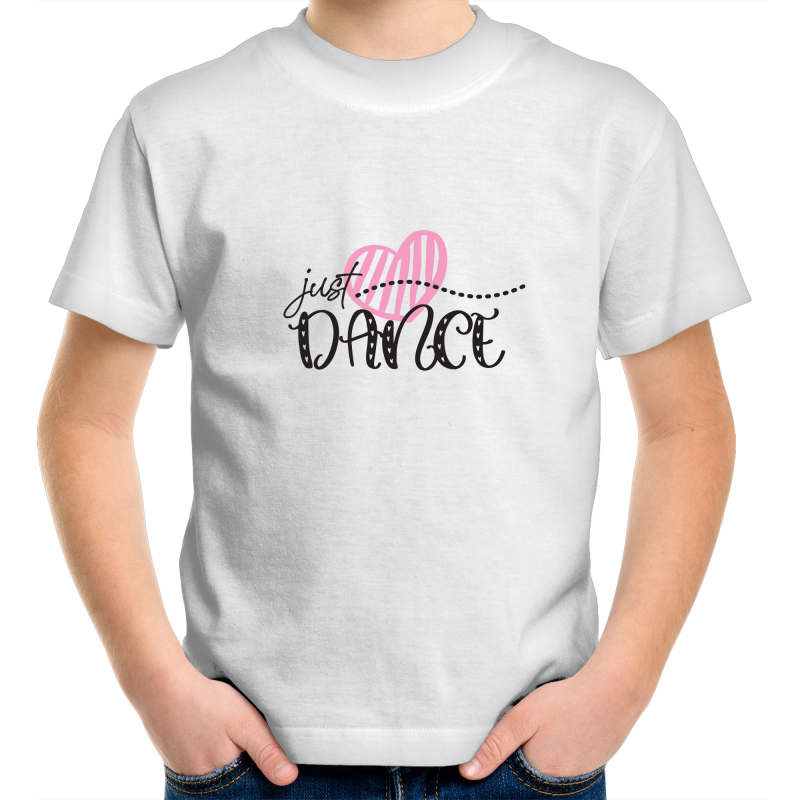 Kids Youth Crew T-Shirt - Just Dance