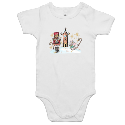 Baby All In One Romper - Nutcracker