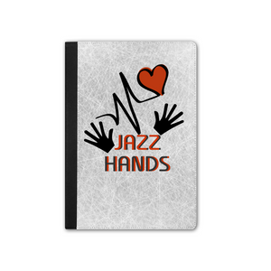 "IPAD 9.7"" Faux Leather Tablet Cases - Jazz Hands"
