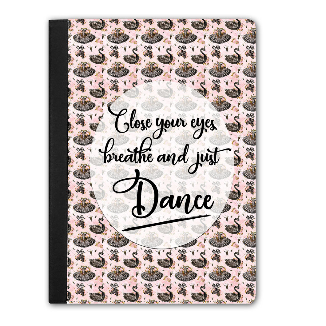 IPAD PRO Faux Leather Tablet Case - Just Dance