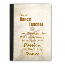Load image into Gallery viewer, IPAD PRO Faux Leather Tablet Case - I'm A Dance Teacher