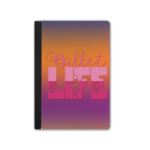 IPAD PRO Faux Leather Tablet Case - Ballet life