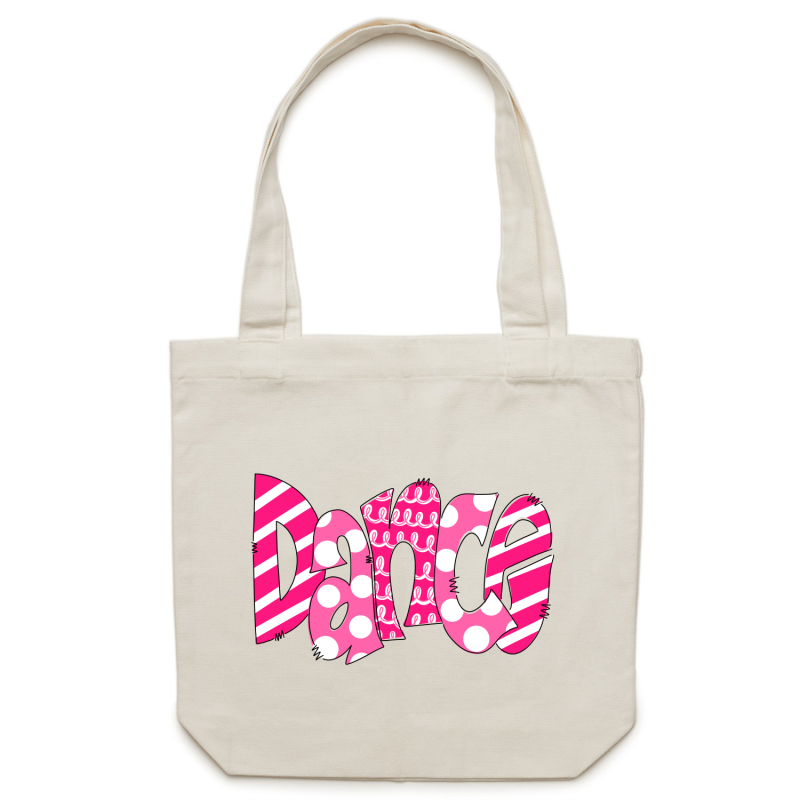 Canvas Tote Bag - Dance