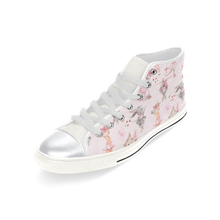 Load image into Gallery viewer, High Top Canvas Kid's Shoes  - Ballerina