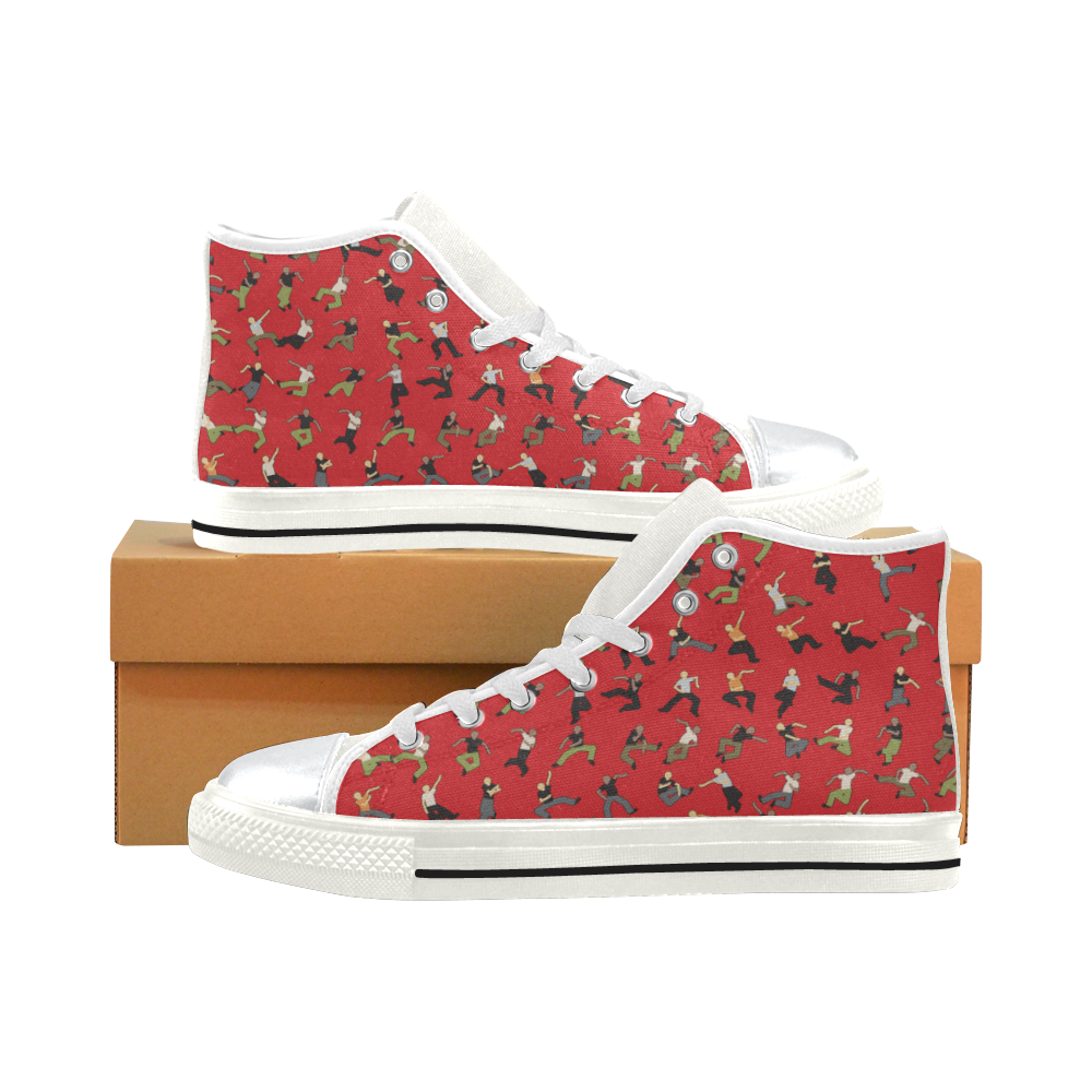 High Top Canvas Kid's Shoes - HipHop