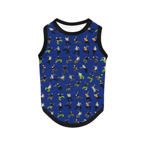 Dog Tank Top - Hip Hop NVY