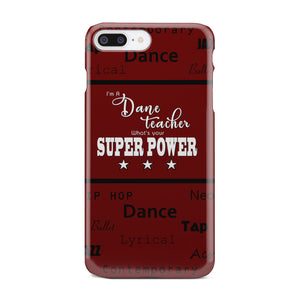 Slim Phone Case - What's Your Superpower