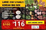 Load image into Gallery viewer, Large KBBQ Box (for 4/family)