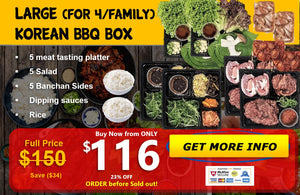 Large KBBQ Box (for 4/family)