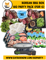 Load image into Gallery viewer, SPECIAL $229 - ISO Party Pack  KBBQ Box for 6