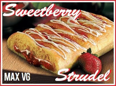 SWEETBERRY STRUDEL - MAX VG