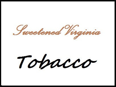 SWEETENED VIRGINIA TOBACCO 50/50 PG/VG