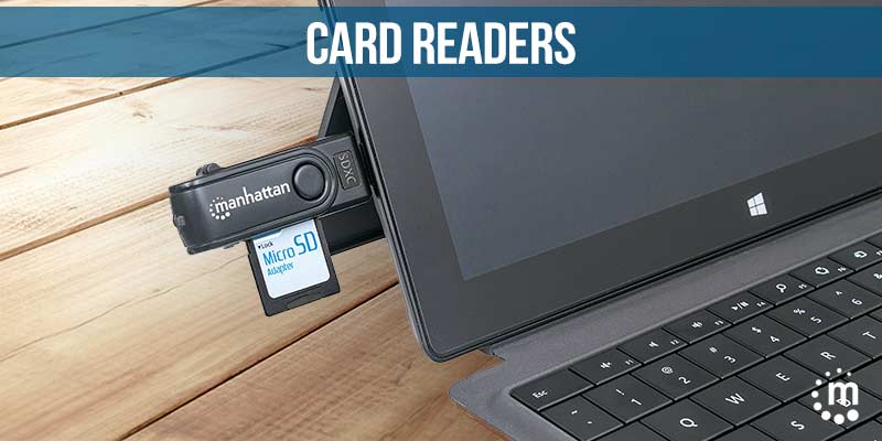Card Readers by Manhattan Products