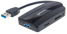 Load image into Gallery viewer, SuperSpeed USB 3.0 Hub and Card Reader/Writer Image 1