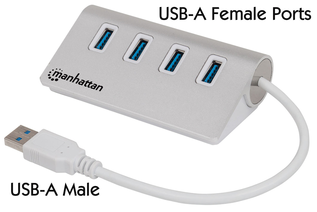 4-Port SuperSpeed USB 3.0 Hub Image 1