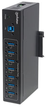 Load image into Gallery viewer, 7-Port Industrial USB 3.0 Hub Image 1