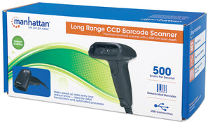 Long Range CCD Barcode Scanner Packaging Image 2