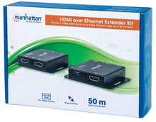 Load image into Gallery viewer, 1080p HDMI over Ethernet Extender Kit Packaging Image 2