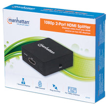 Load image into Gallery viewer, 1080p 2-Port HDMI Splitter Packaging Image 2