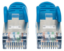 Load image into Gallery viewer, Cat6a S/FTP Patch Cable, 1 ft., Blue Image 3