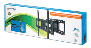 Universal Flat-Panel TV Full-Motion Wall Mount Packaging Image 2