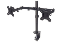Load image into Gallery viewer, Universal Dual Monitor Mount with Double-Link Swing Arms Image 1