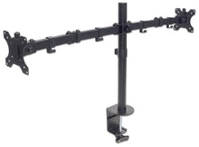 Load image into Gallery viewer, Universal Dual Monitor Mount with Double-Link Swing Arms Image 2