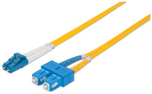 Load image into Gallery viewer, Fiber Optic Patch Cable, Duplex, Single-Mode Image 1