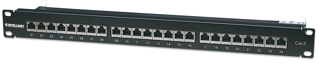 Cat6 Shielded Patch Panel Image 1