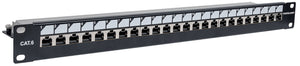 "Locking 19"" Cat6 Shielded Patch Panel Image 2"