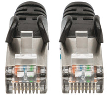 Load image into Gallery viewer, Cat6a S/FTP Patch Cable, 25 ft., Black Image 3