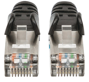 Cat6a S/FTP Patch Cable, 25 ft., Black Image 3