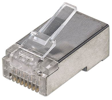 Intellinet 100-Pack Cat5e RJ45 Modular Plugs