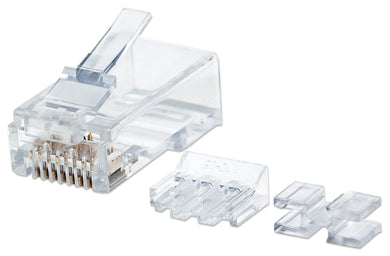 Intellinet 80-Pack Cat6A RJ45 Modular Plugs