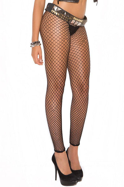 Footless Fishnet Pantyhose