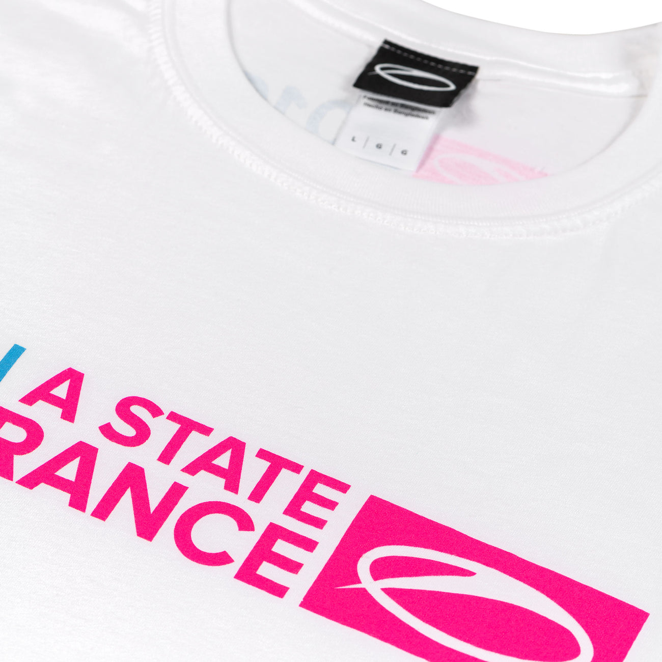 ASOT I'm in a state of trance t-shirt white