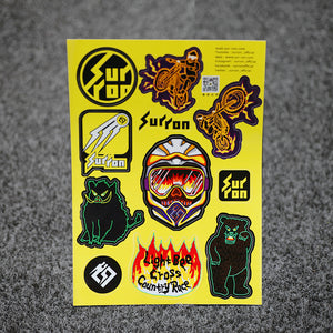 sur-ron STICKER SHEET