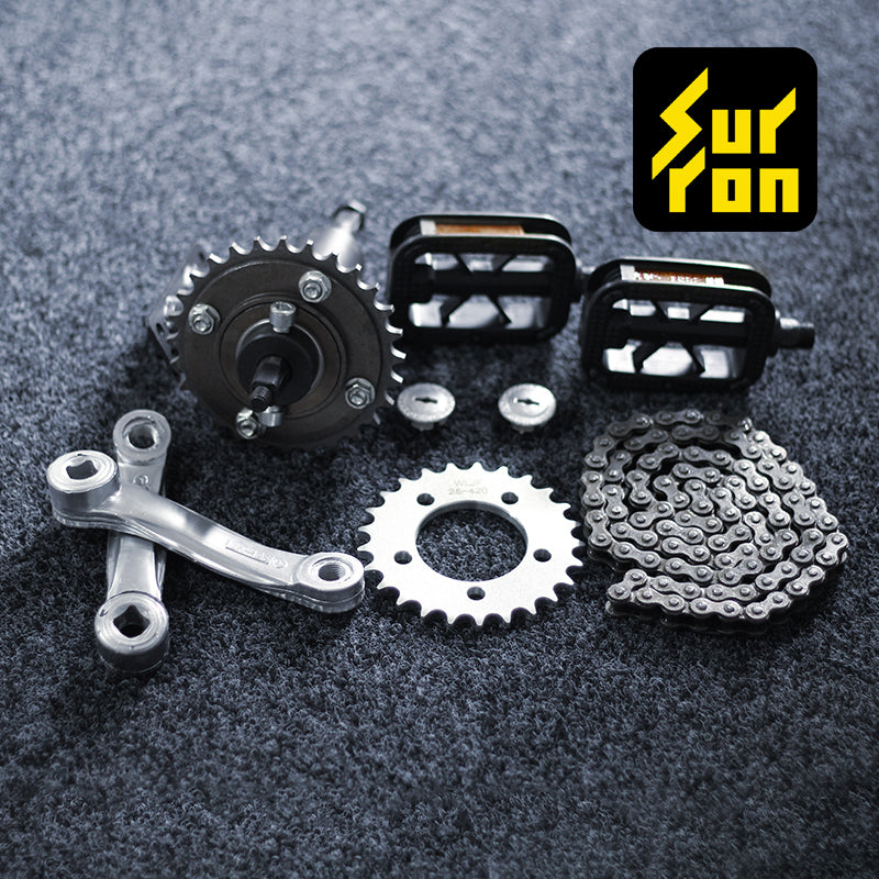 surron lbx pedal conversion kit