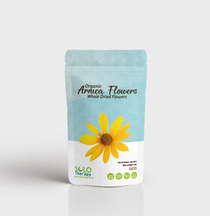 Arnica Dried Whole Flowers 4 oz. / Solo Therapy