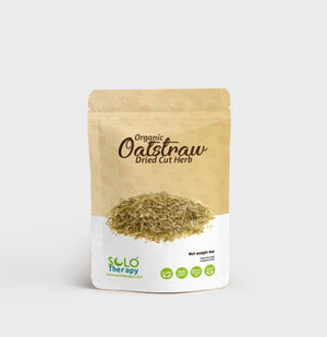 Oatstraw Dried Cut Herb 4 oz. /  Solo Therapy