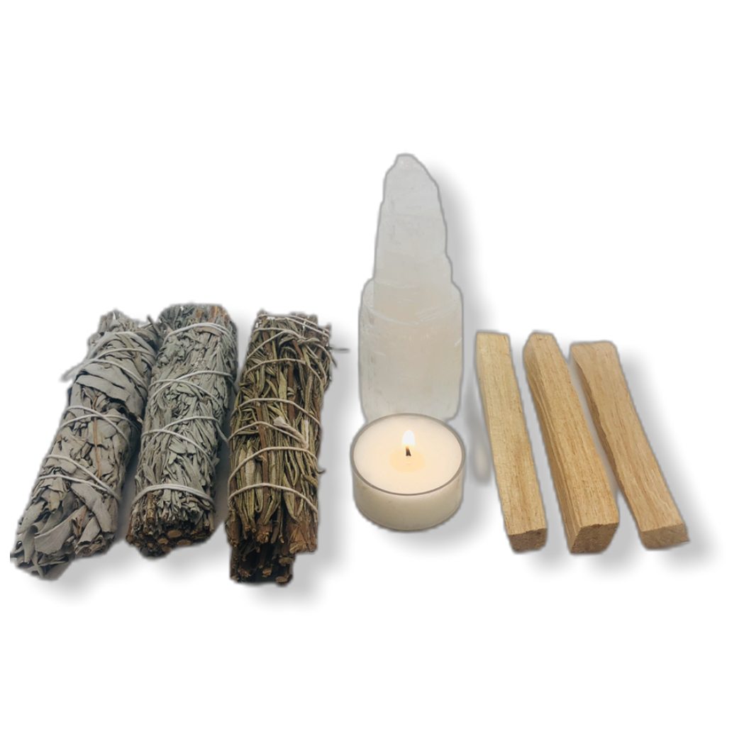Smudge Kit Spiritual Gift Set - Solo Therapy