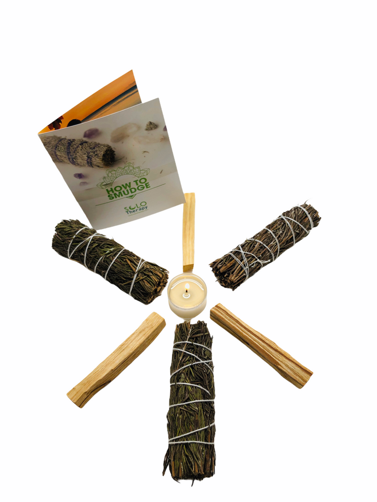 Rosemary Smudge Kit / Solo Therapy