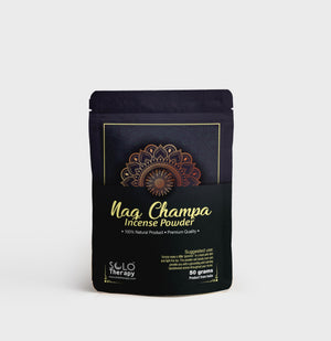 Nag Champa Incense Powder - 50 Grams / Solo Therapy