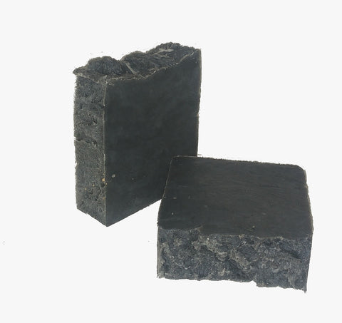 Soap Bar - Charcoal (Solid colour) - All-natural - 150g