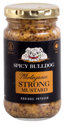 Spicy Bulldog Homemade Wholegrain Strong Mustard