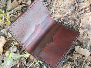 Slim Bifold Leather Wallet