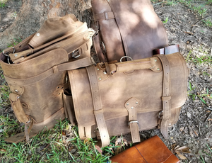 Messenger Bag in Tobacco Color