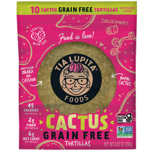 Load image into Gallery viewer, Grain-Free Cactus Tortillas